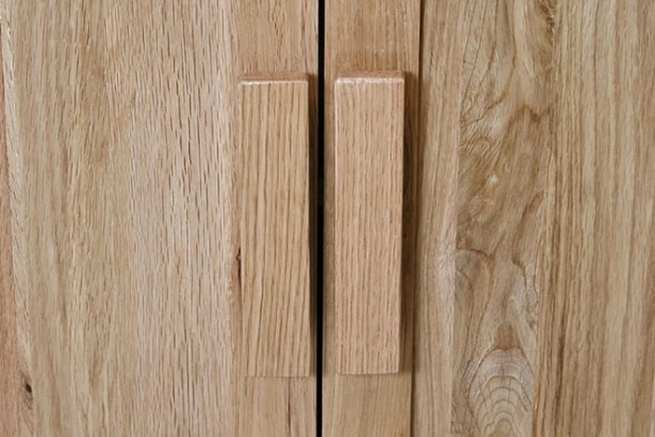 Wooden Handles for Bathroom Vanity Unit