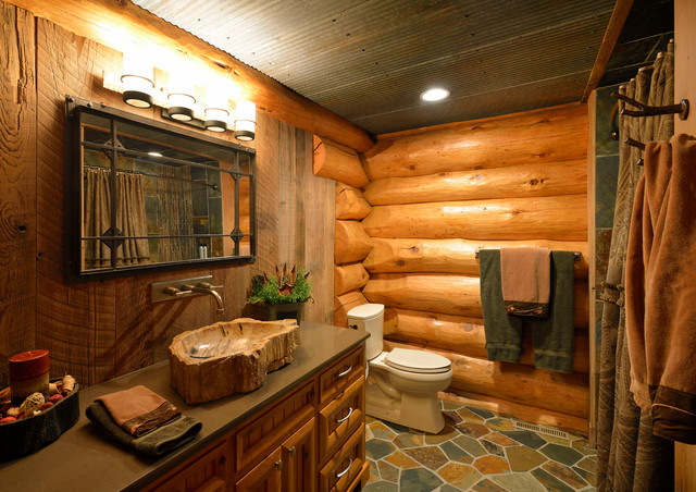 Rejuvenate To A Rustic Country Style Bathroom on Rural Bathroom  id=73685