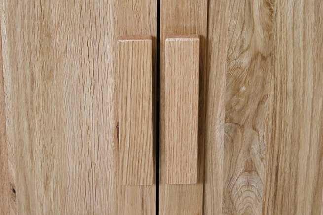Vanity Unit Door Wooden Handles