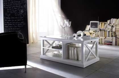 Stylish White Coffee Table from the Halifax Range