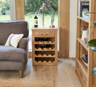 The Wine Rack with Table Top from Mobel Furniture Range