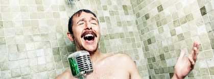 Chap Enjoying a Shower-Tiime Singalong