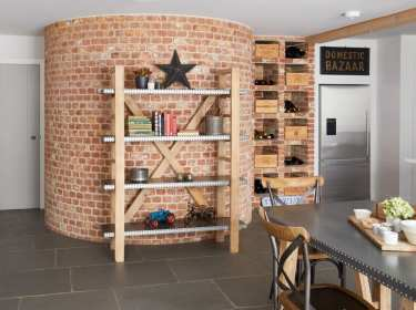 Modern Kuba Bookcase