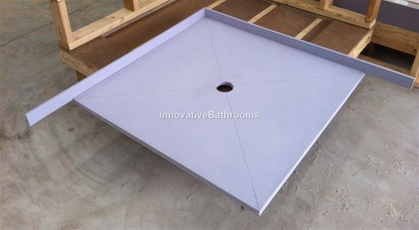 1200 900mm shower base leak prevention