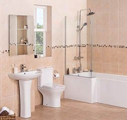 complete bathroom suites from only £199