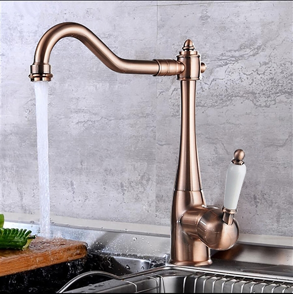 single hole kitchen faucet lowes