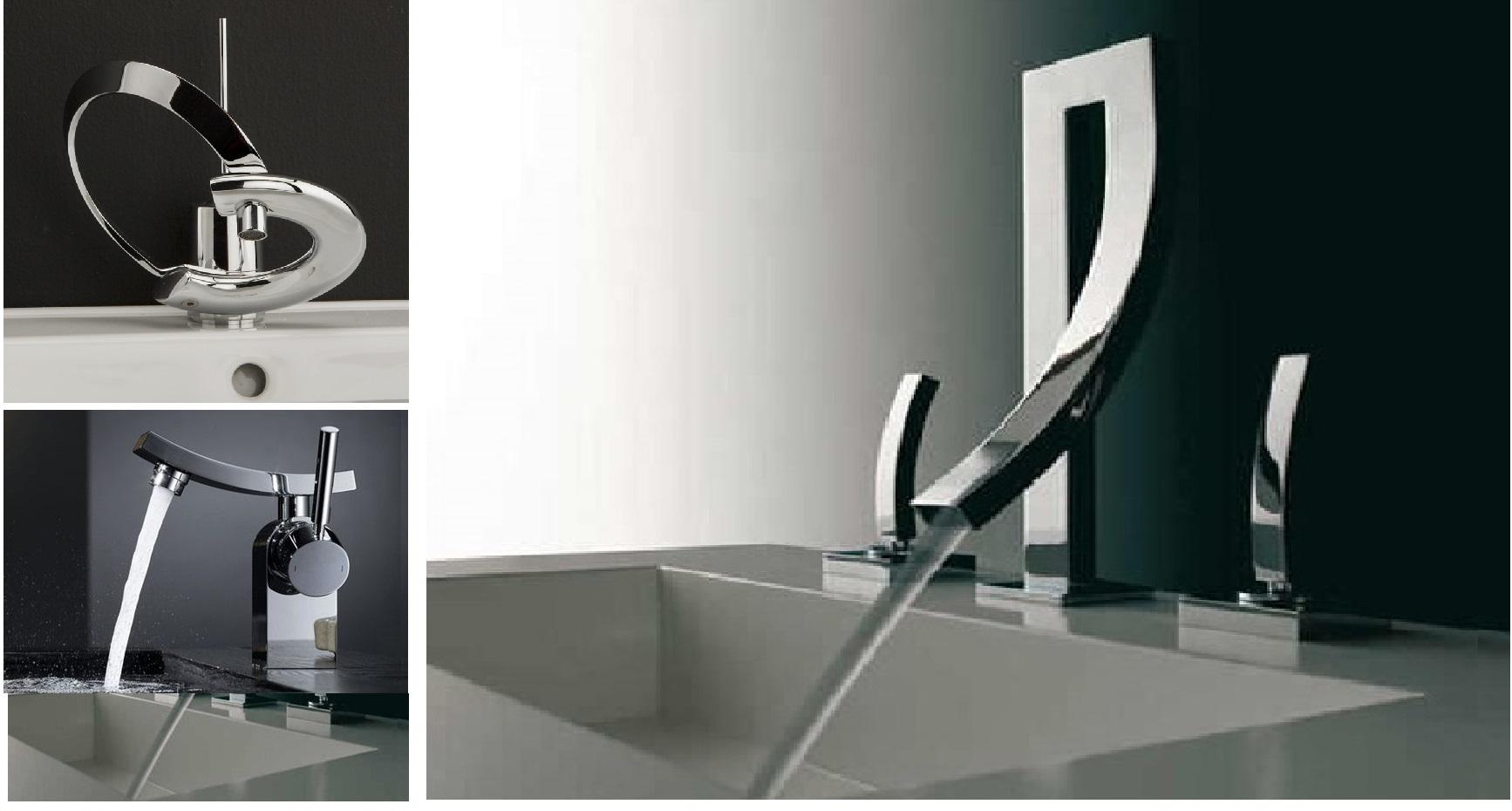 contemporary bathroom faucets image