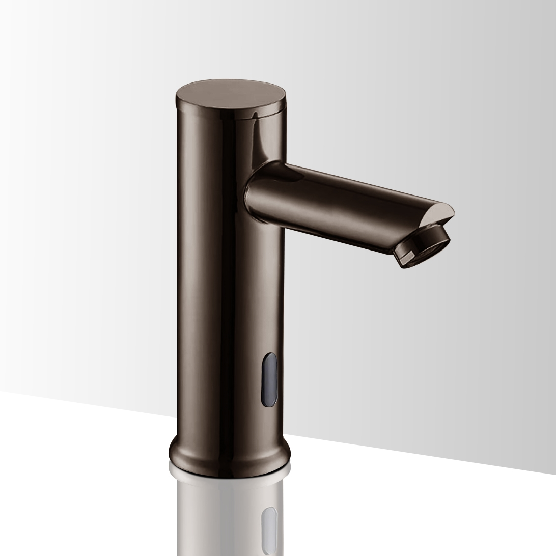 solo touchless commercial automatic sensor faucet oil rubbed bronze finish