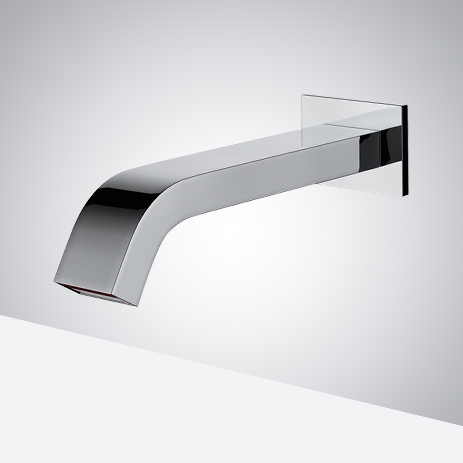 commercial wall mount automatic motion sensor faucet