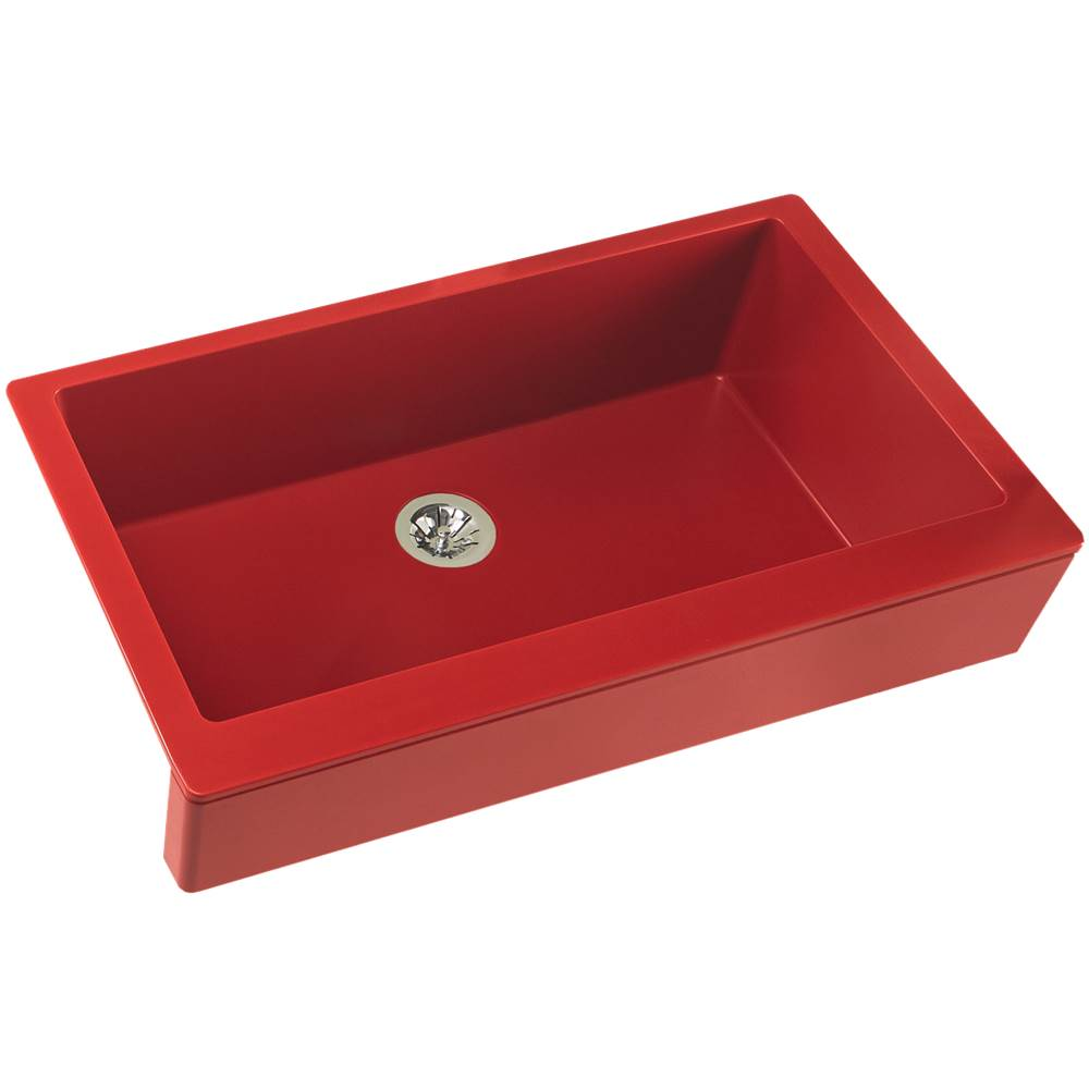 elkay quartz luxe 35 7 8 x 20 15 16 x 9 single bowl farmhouse