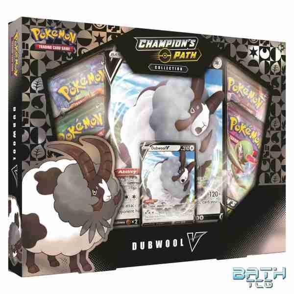 Pokemon TCG: Champion's Path Collection Dubwool V Box
