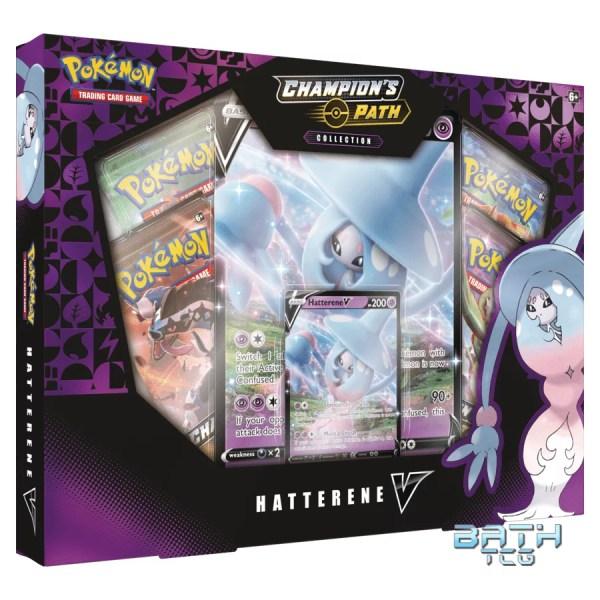Pokemon TCG Champion's Path Hatterene V Box