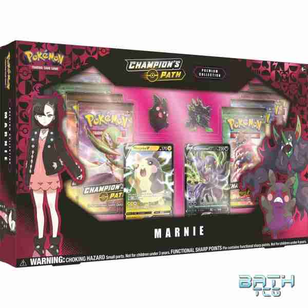 Pokemon TCG Champion's Path Premium Collection Marnie