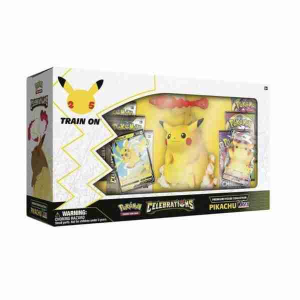 Pokemon TCG: Celebrations Premium Figure Collection - Pikachu VMAX