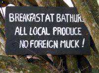 No foreign Muck Mac?