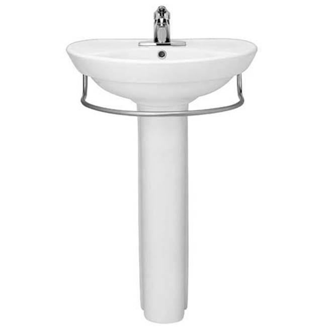 ravenna 8 inch widespread pedestal sink top