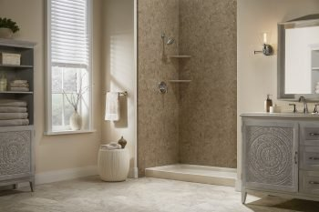 replacement shower ideas for a small