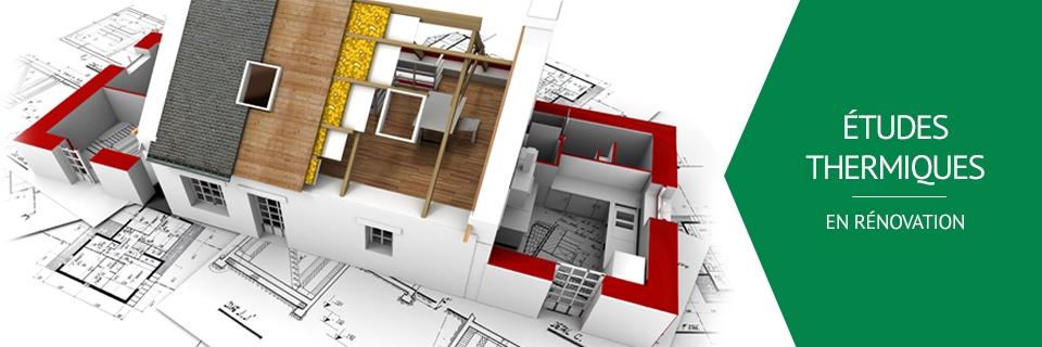 Etudes et bilans thermiques en rénovation