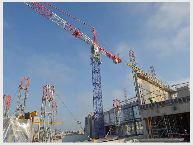 Photo d'illustration d'un chantier parisien