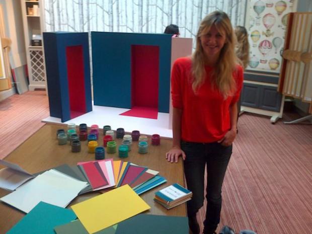Sarah Lavoine Signe Sa Premire Collection De Peinture