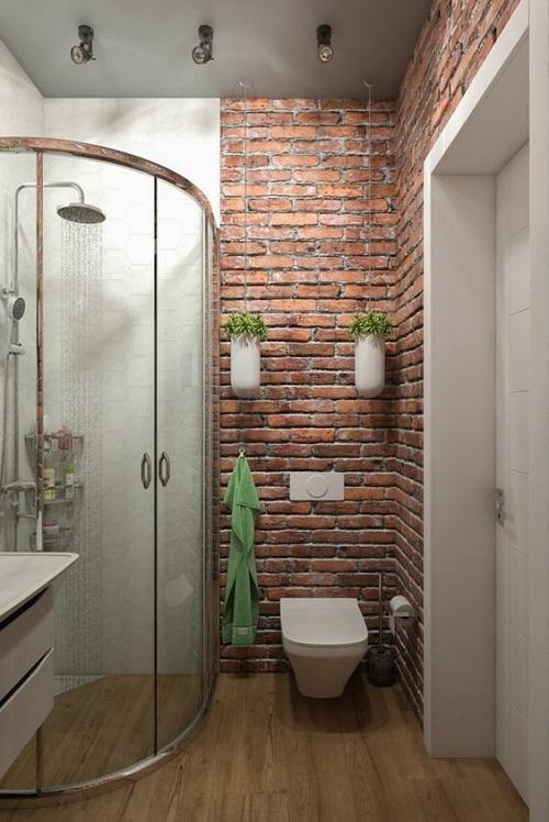 salle de bain avec douche d angle