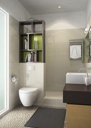 isoler les toilettes dans la salle de bain