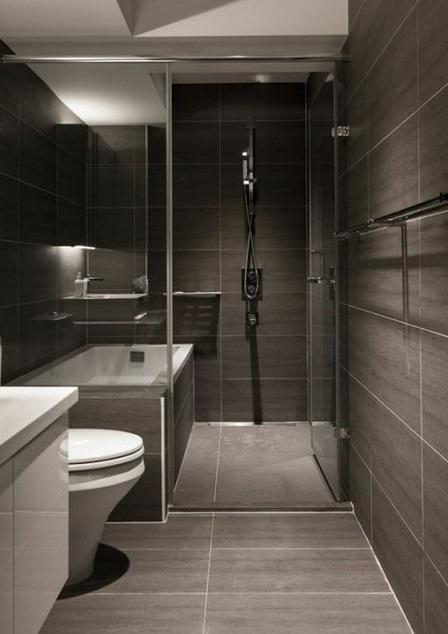 mettre baignoire et douche dans une