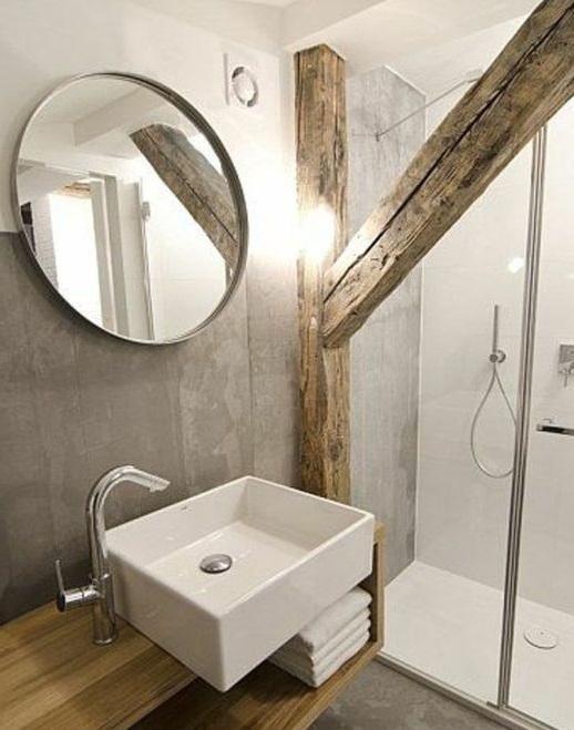 un meuble de salle de bain