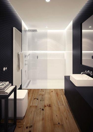 poser du stratifie dans une salle de bain