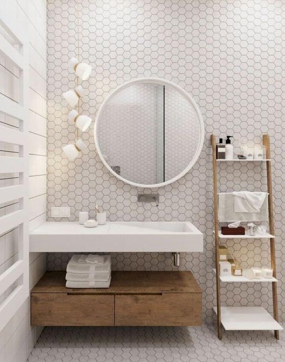 d eau dans une salle de bain