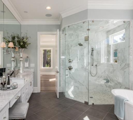 modeles de salle de bain avec douche