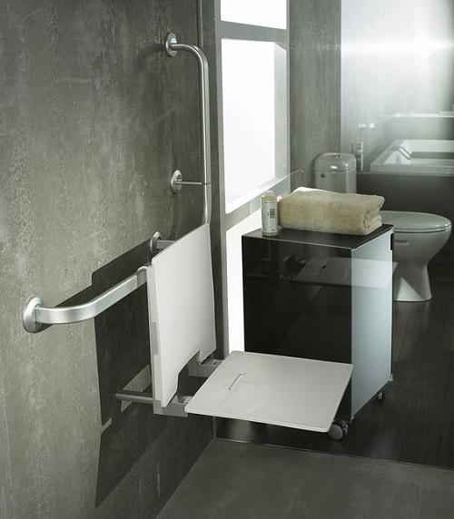 norme pour salle de bain pour handicape