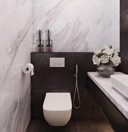 installer un wc suspendu de luxe et