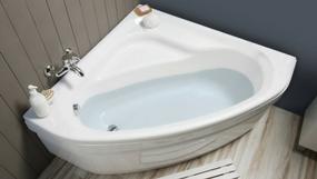 baignoire bain douche angle