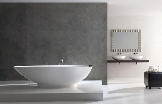 baignoire design a poser en ilot napoli