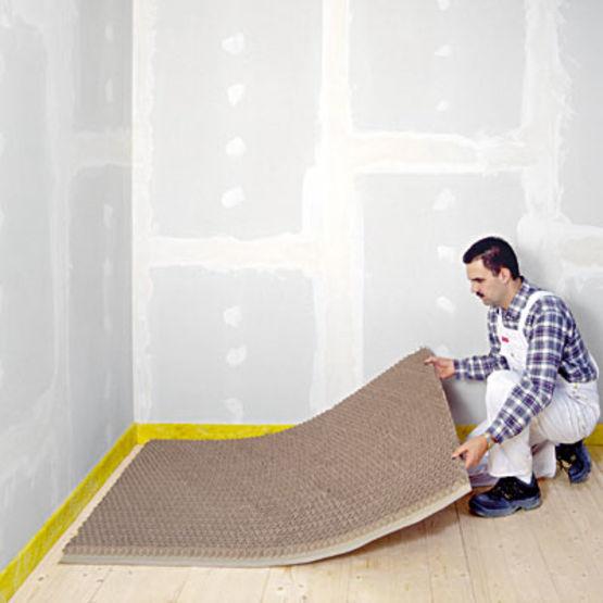 isolant acoustique alveolaire en plaque pour plancher bois fermacell nid d abeille