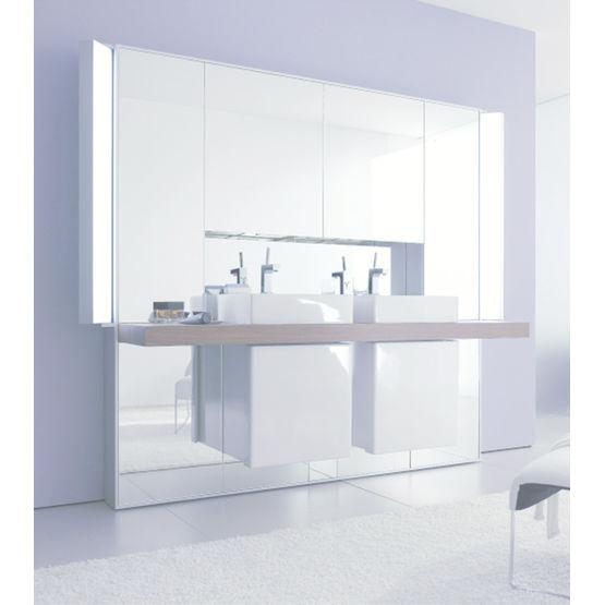 Meuble De Salle De Bains A Facade Miroir Mirrorwall Duravit