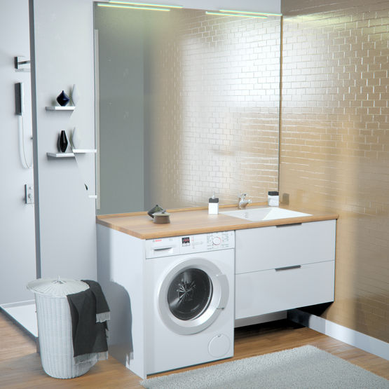 Meuble Salle De Bain Avec Machine A Laver Ikea Bright Shadow Online