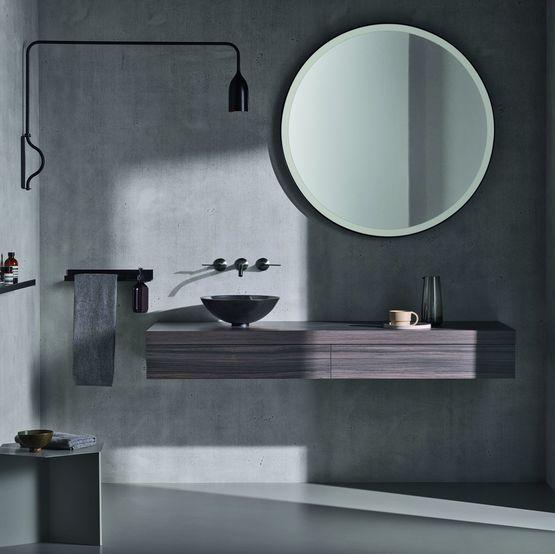 Miroirs Salle De Bain Design En Aluminium Avec Eclairage Led