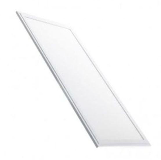 panneau led 65 w avec cadre blanc rgb w 120 x 60 cm