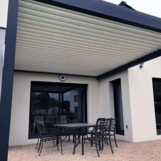pergolas bioclimatique adossee architect