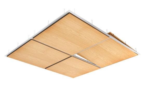 plafond suspendu decoratif en bois veritable decos tile