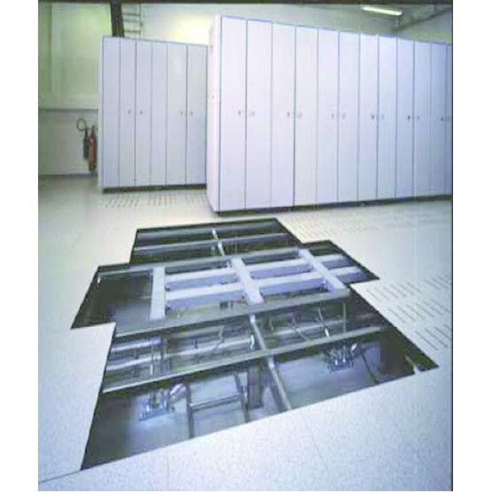 plancher technique grande hauteur et charges lourdes isofloor