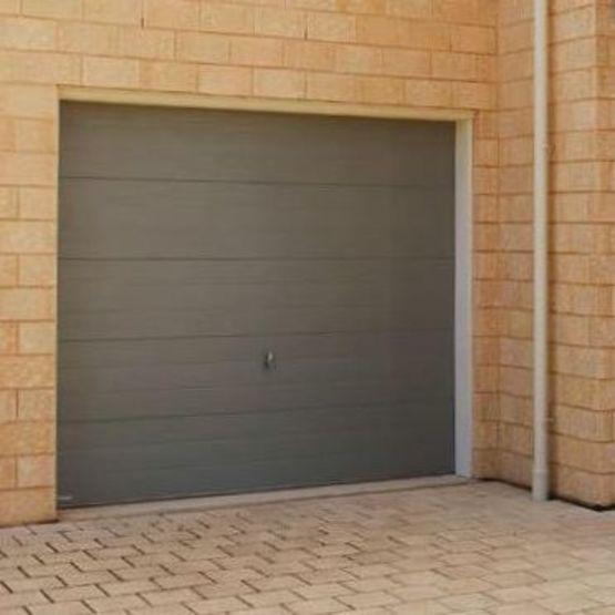 porte de garage sectionnelle en acier porte de garage