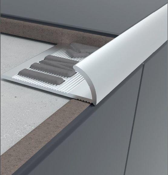profile d arret pour la protection des arretes des angles carreles arrondi
