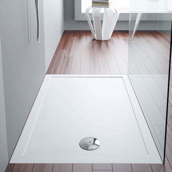 receveur de douche en porcelaine stepin