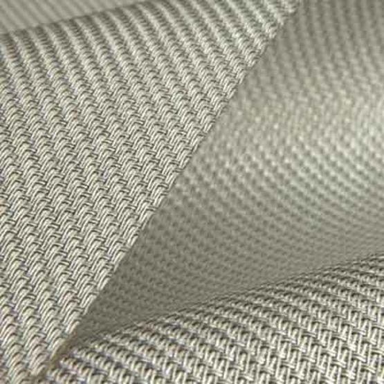 tissu metallise de protection solaire pour stores interieurs satine 5500 low e