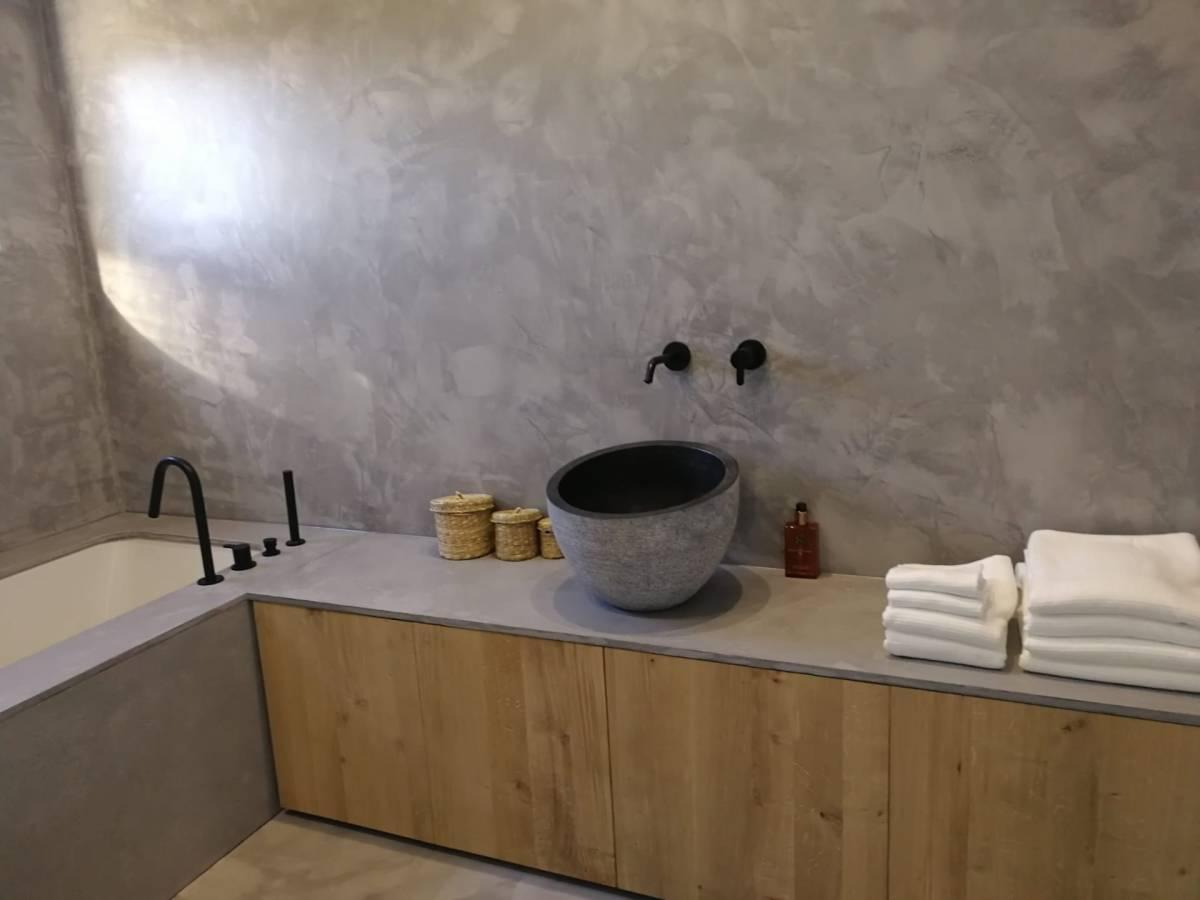 salle de bain bois rénovation aménagement Batir 4