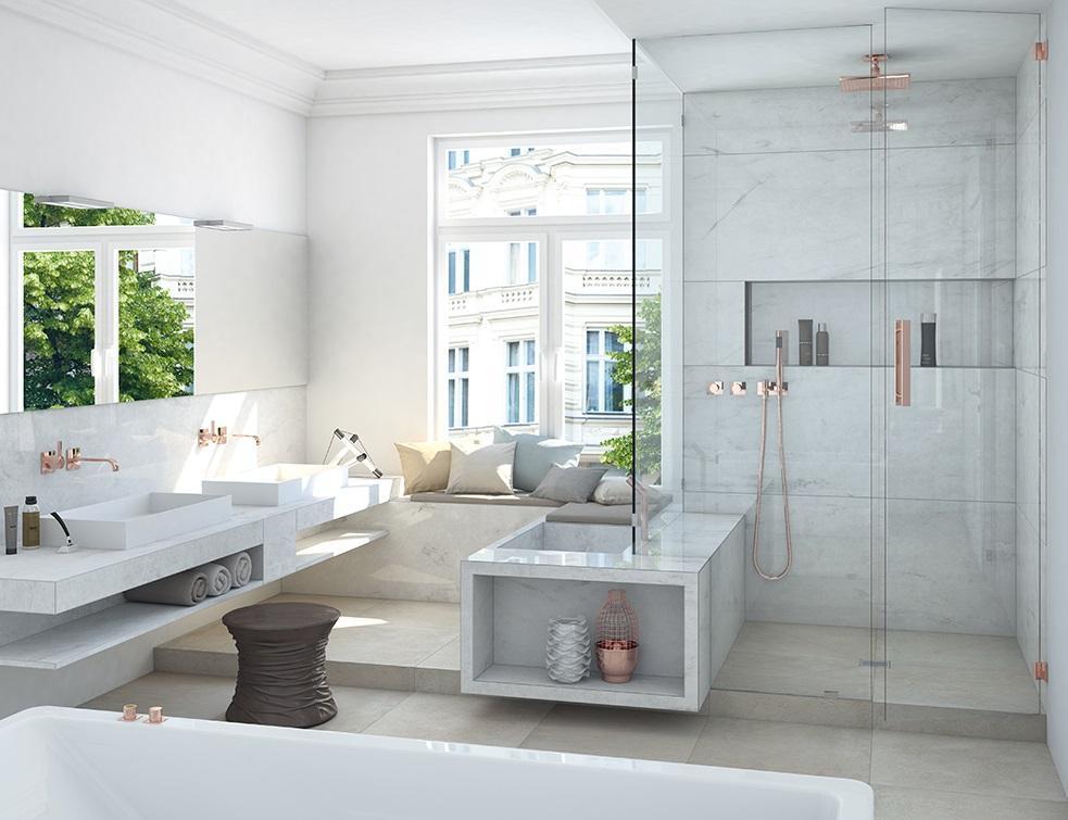 niche de salle de bain la solution