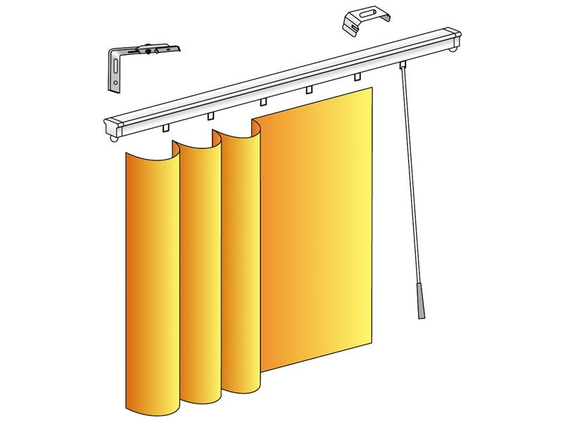 batistore rail rideau manœuvre lance